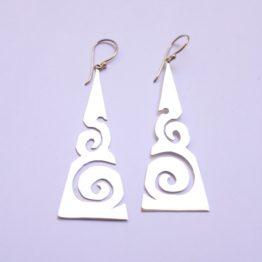 Asplenium Nidus Earrings
